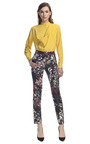 Printed Silk Trousers by CéDRIC CHARLIER for Preorder on Moda Operandi