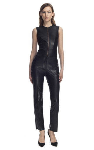 Medium cedric charlier black leather pants
