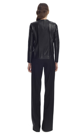 Pleated Wide Leg Trousers by CéDRIC CHARLIER for Preorder on Moda Operandi