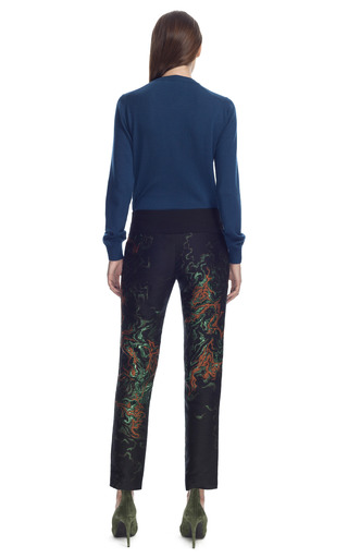 Metallic Patterned Pants by CéDRIC CHARLIER for Preorder on Moda Operandi