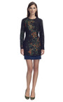 Metallic Panel Dress by CéDRIC CHARLIER for Preorder on Moda Operandi