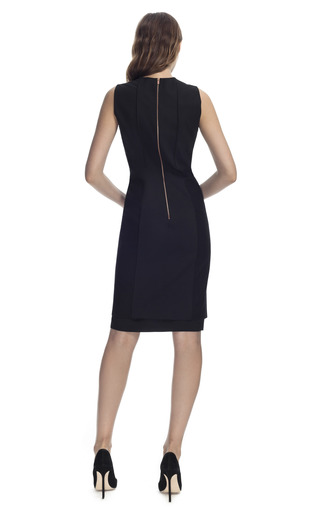 Wool Panel Dress by CéDRIC CHARLIER for Preorder on Moda Operandi