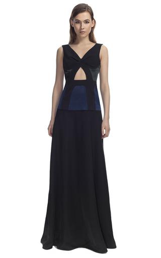 Medium cedric charlier blue cutout gown