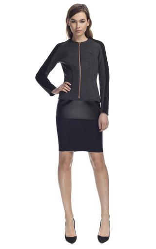 Medium cedric charlier black fitted jacket