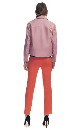 Bubblegum Leather Jacket by CéDRIC CHARLIER for Preorder on Moda Operandi