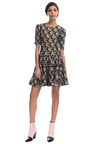 Tiger Heads Stretch Viscose Jacquard Dress  by KENZO for Preorder on Moda Operandi