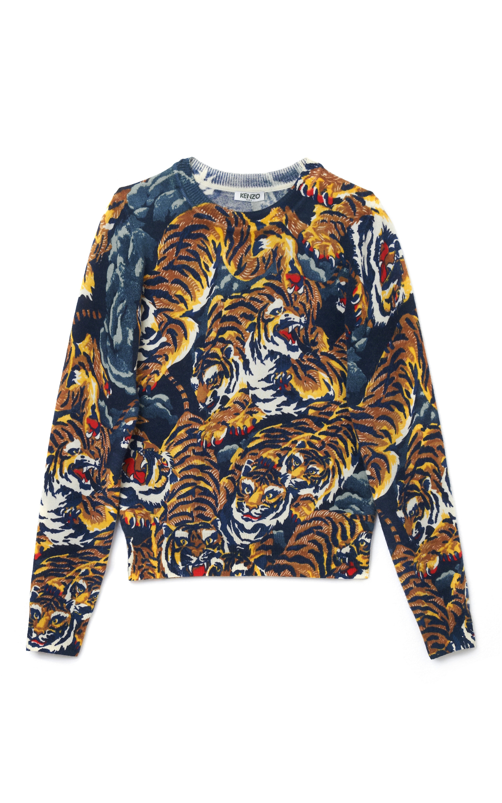 Flying Tigers Sweater by Kenzo  78d1e18d3d
