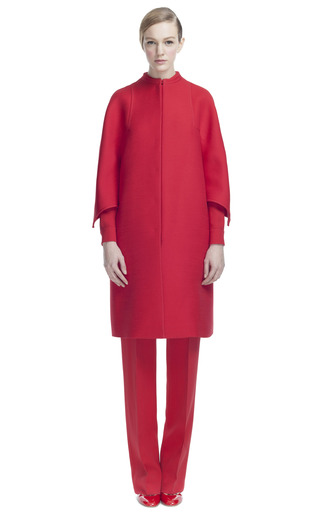 Triplo Couture Midlength Caban by VALENTINO for Preorder on Moda Operandi
