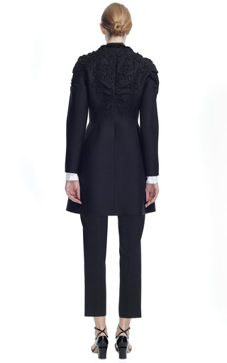 Embroidered Triplo Couture Coat by VALENTINO for Preorder on Moda Operandi