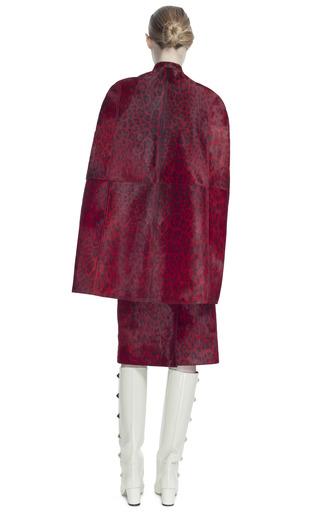 Printed Baby Calf Tubino Skirt by VALENTINO for Preorder on Moda Operandi
