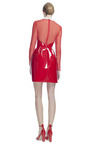Lacca Dress With Organza Sleeve by VALENTINO for Preorder on Moda Operandi