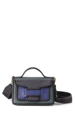 Medium pierre hardy dark grey color blocked shoulder bag