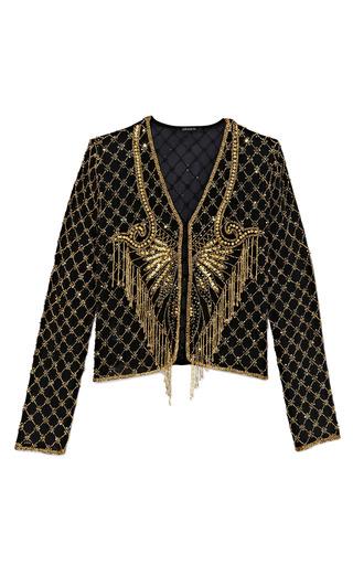 Medium pas pour toi gold beaded piece jacket