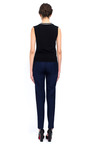 Deep V Merino Top by BOUCHRA JARRAR for Preorder on Moda Operandi