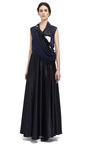 Silk Satin Ball Skirt by BOUCHRA JARRAR for Preorder on Moda Operandi