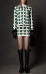 Knit Floral Jacquard Jumper In Green by J.W. ANDERSON for Preorder on Moda Operandi