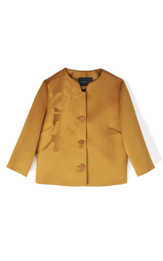 Vanni Satin Jacket by JONATHAN SAUNDERS for Preorder on Moda Operandi