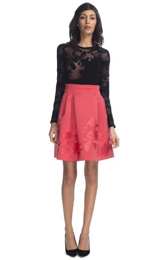 Medium jonathan saunders pink radka skirt