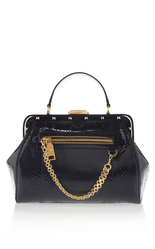 Curb Chain Doctor Bag by VERSACE for Preorder on Moda Operandi