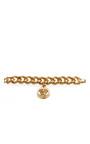 Matte Chain Link Medusa Bracelet by VERSACE for Preorder on Moda Operandi