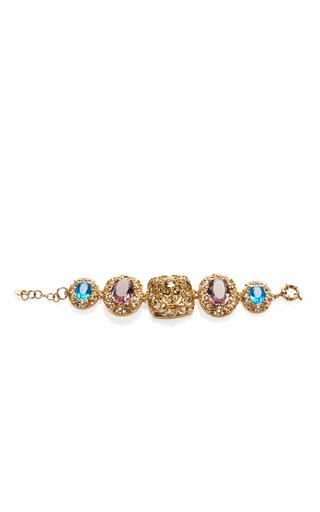 Crystal Bracelet by VERSACE for Preorder on Moda Operandi