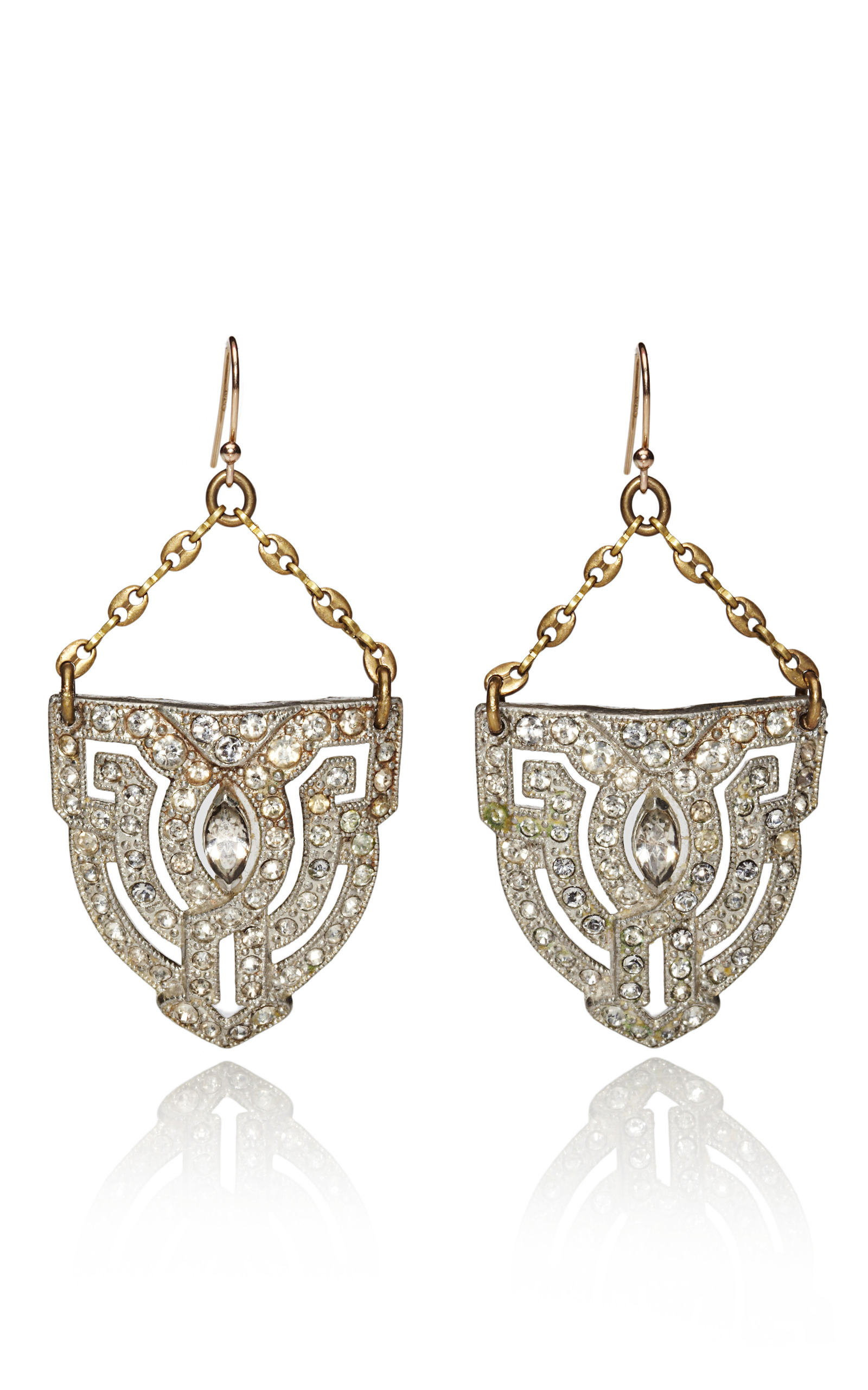 dressy earrings deco dress clip earrings by lulu moda operandi 1203