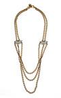Sunburst Drape Necklace by LULU FROST for Preorder on Moda Operandi