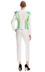 Lime Illusion Jacket  by HARYONO SETIADI for Preorder on Moda Operandi