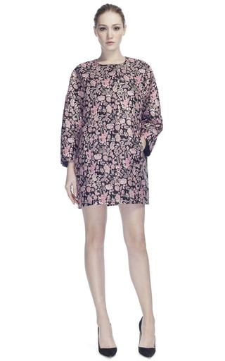 Medium msgm floral brocade dress