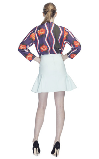 Techno Stretch Skirt by MSGM for Preorder on Moda Operandi