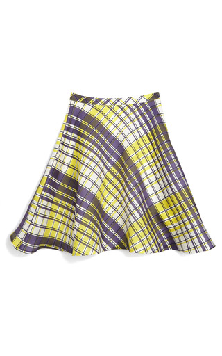 Gazar Checked Skirt by MSGM for Preorder on Moda Operandi