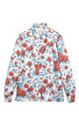 Twill Stamped Silk Shirt by MSGM for Preorder on Moda Operandi