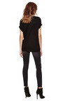 Black New Evening Relaxed Tee by JOSH GOOT Now Available on Moda Operandi