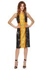 Halter Cut Away Dress by JOSH GOOT Now Available on Moda Operandi