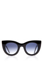 Thierry Lasry Orgasmy Sunglasses In Black by THIERRY LASRY Now Available on Moda Operandi