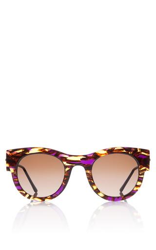 Medium thierry lasry purple punchy sunglasses in purple tortoise
