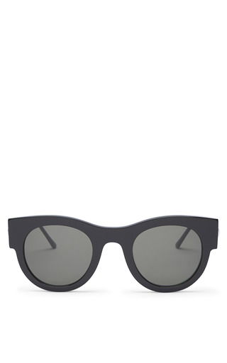 Medium thierry lasry black punchy sunglasses in black