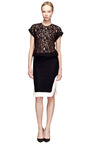 T Shirt Lace Dress by NO. 21 Now Available on Moda Operandi