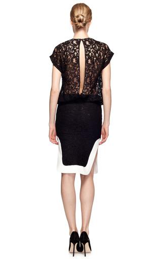 T Shirt Lace Dress by NO. 21 Now Available on Moda Operandi