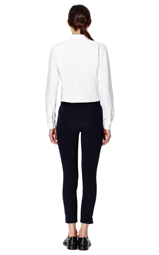 Skinny Pants Seersucker by MAISON KITSUNE Now Available on Moda Operandi