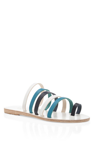 Niki Leather Strappy Sandals By Ancient Greek Sandals