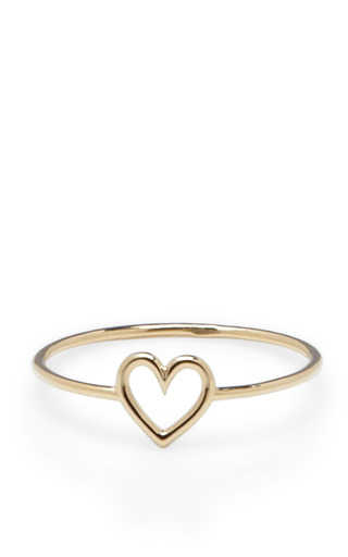 Medium aurelie bidermann gold love ring