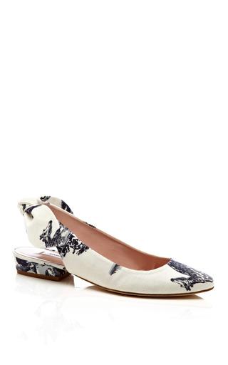 Medium carven multi safari printed flat shoes