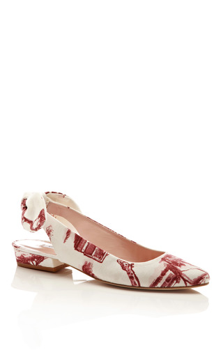 Safari Printed Flats by CARVEN Now Available on Moda Operandi