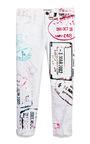 The Roadrunner Lilac Boyfriend Jeans by MARY KATRANTZOU X CURRENT/ELLIOTT Now Available on Moda Operandi