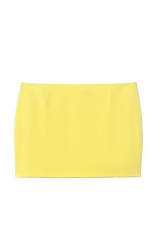 Medium jenni kayne yellow mini skirt