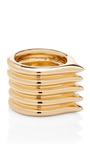 5 Peak Ring by JENNIFER FISHER Now Available on Moda Operandi