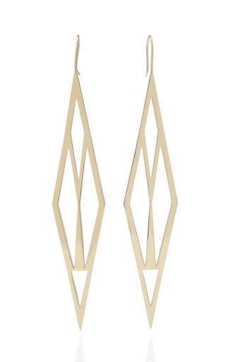Medium jennifer fisher gold battle earrings
