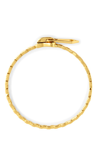 Medium jennifer fisher gold mini zipper bangle