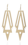War Earrings by JENNIFER FISHER Now Available on Moda Operandi